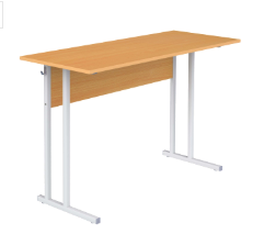 Столы ученические нерегулируемые двухместные