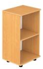 Стеллаж узкий открытый 2-уровневый