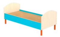 Кровать детская на металлических ножках