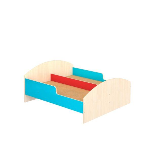 Кровать детская двухместная с бортиками