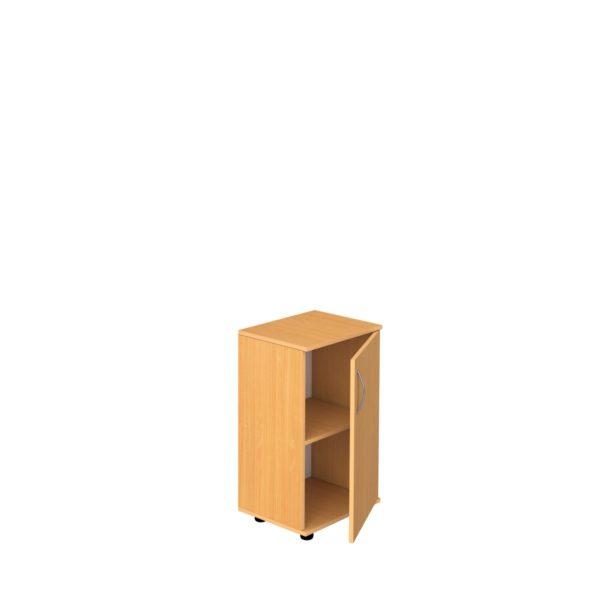 Шкаф 2-уровневый узкий закрытый
