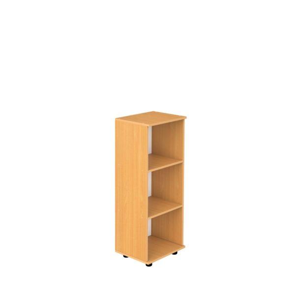 Шкаф-стеллаж 3-уровневый узкий открытый