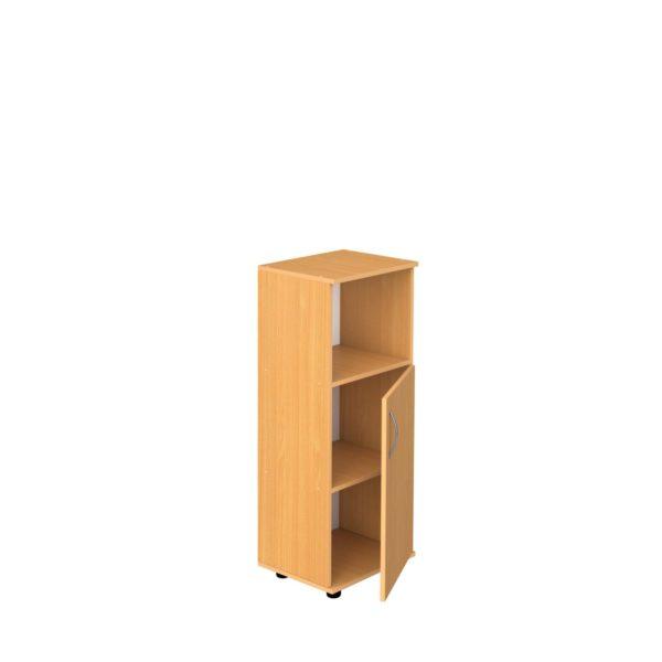 Шкаф 3-уровневый узкий полуоткрытый