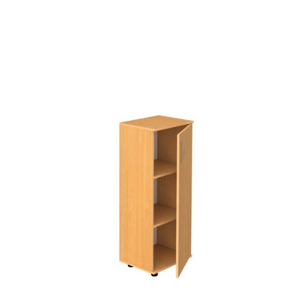 Шкаф 3-уровневый узкий закрытый