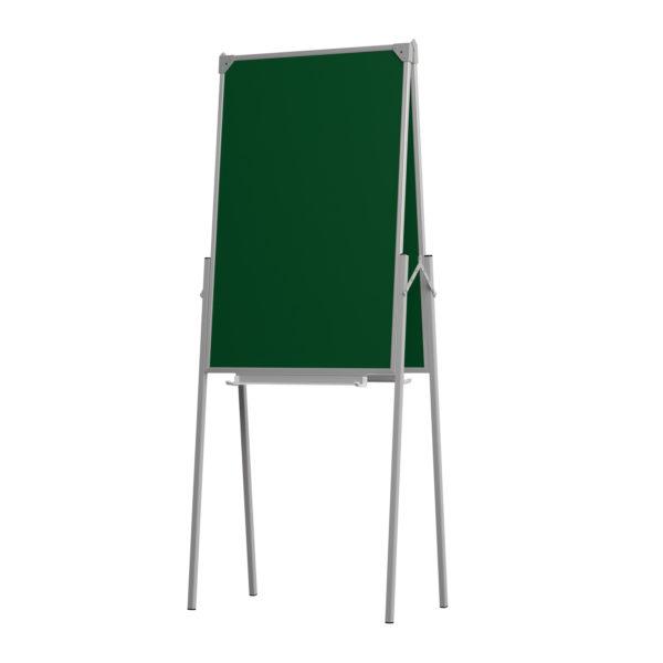 Мольберт двухсторонний для маркера и мела 75х50 см