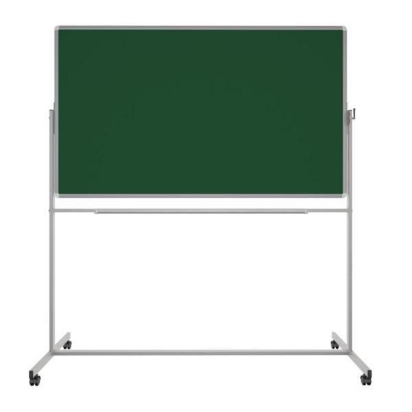 Поворотная двухсторонняя доска для мела и маркера 170х100 см