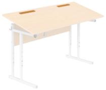 Лоток для письменных принадлежностей к столам с наклоном крышки