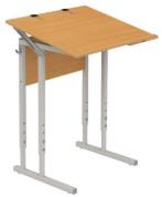 Стол ученический регулируемый для черчения и рисования