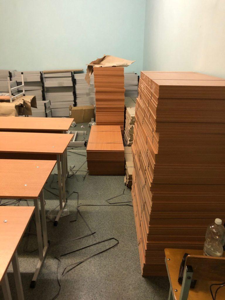 Заказать ученические столы
